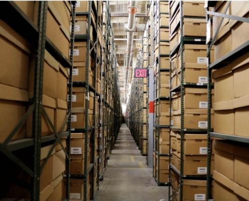 Съхранение на документи в архивохраналище в София