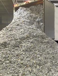 Конфиденциално унищожаване на документи чрез шредиране и претопяване